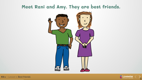 Rani and Ami - Relationships Matter (Lovewise)