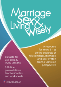 Marriage, Sex & Living Wisely